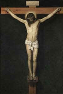 Ukřižovaný Ježíš, Španělsko 1632, Diego Velasquez