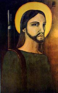 """Kristus Partyzán"" (""Cristo Guerrillero""), 1969, Alfredo G. Rostgaard, Kuba"