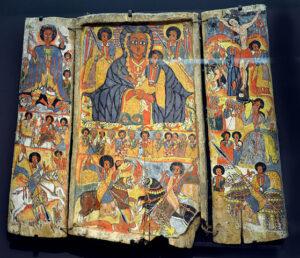 Velký Triptych, Etopie asi 1700